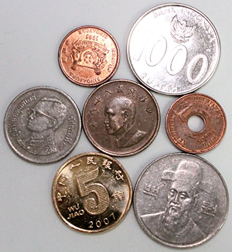 n Coins - All from Different Countries ()