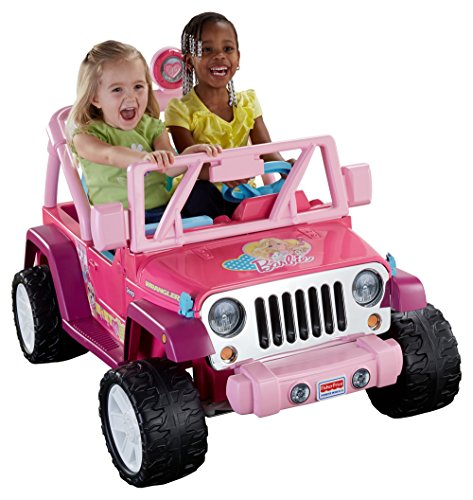 Power Wheels Barbie Jammin Jeep Wrangler,