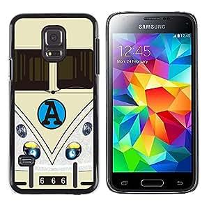 Dragon Case - FOR Samsung Galaxy S5 Mini, SM-G800 - Love is hard - Caja protectora de pl??stico duro de la cubierta Dise?¡Ào Slim Fit