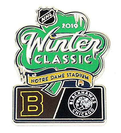 Image Unavailable. Image not available for. Color  2019 NHL Winter Classic  Bruins vs. Blackhawks Dueling Pin 7987b2797