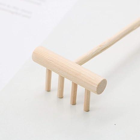 JETEHO - Rastrillo de 6 piezas para jardín Zen, con 4 pinzas, para escritorio, con rastrillos de arena de jardín de 5.5 pulgadas: Amazon.es: Juguetes y juegos