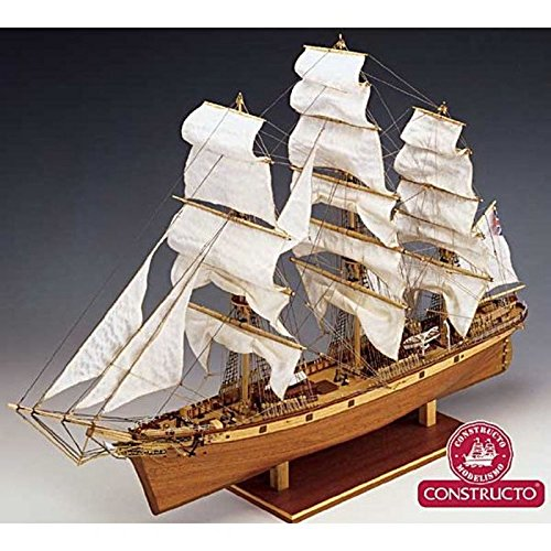 Constructo 80838 Model-Making Kit Cutty Sark Ship in 1:115 Scale (Sark Model Cutty Kit)