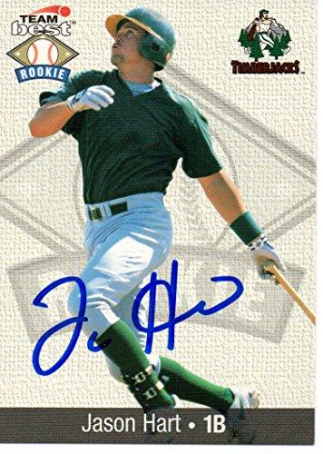 Jason Hart Oakland Athletics 1999 Team Best Signed Card