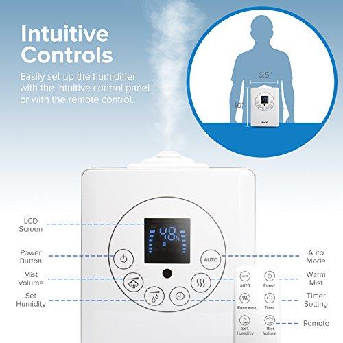 Levoit Cool Amp Warm Mist Humidifier Ultrasonic Air