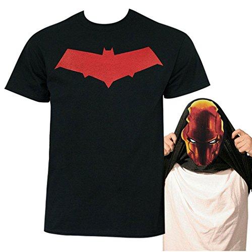 DC Comics Batman Red Hood Flip-up Costume (Batman The Red Hood Costume)