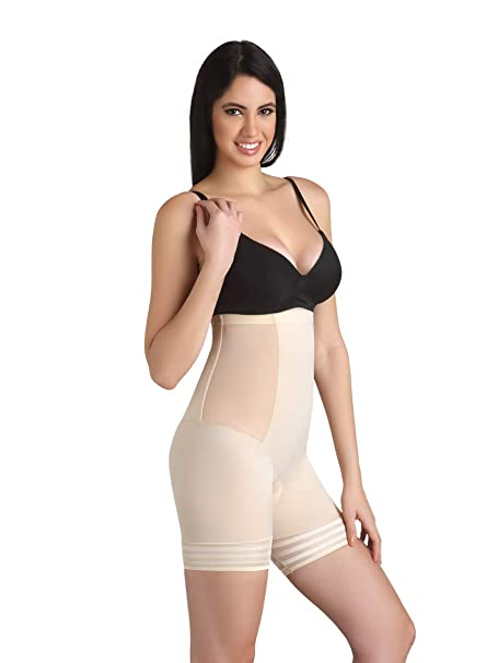 240691822a Swee Coral - Women s Shapewear - High Waist and Short Thigh Shaper ...