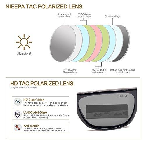 00063050c7b Square Polarized Sunglasses Aluminum Magnesium Temple Spring Hinges  Wayfarer Style Sun Glasses Men Women Classic Retro