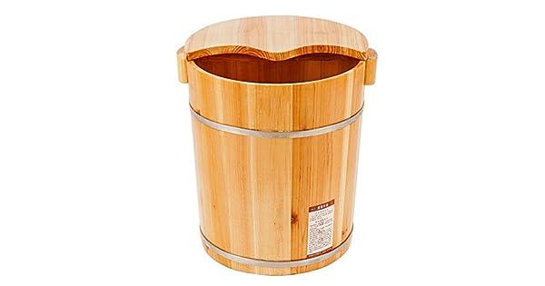 Amazon.com: ktyx maciza madera de pino baño de pies barril ...