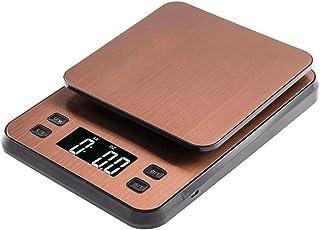 ZHANGYUGE 3kg/0.1G LCD elettronico Digitale Bilancia da Cucina caffè Timer di Scala di bilanciamento del Peso con Alimentazione USB