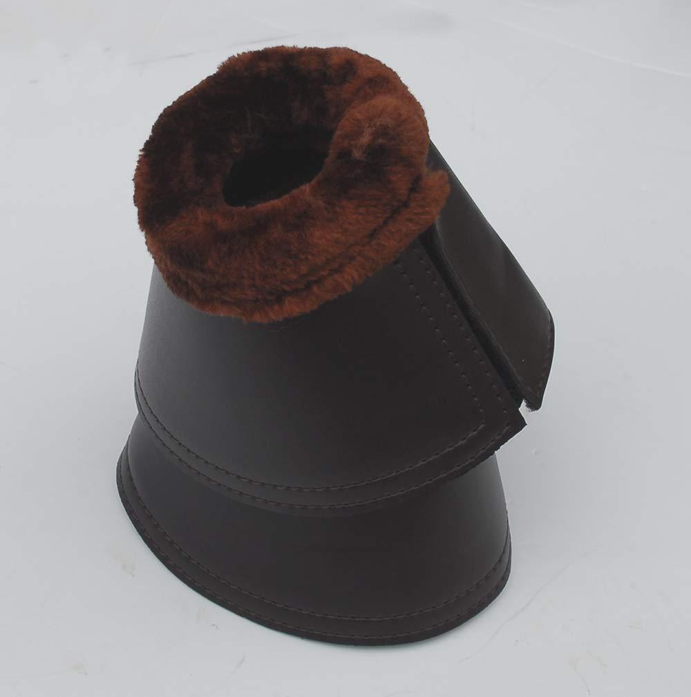 Rhinegold Fleece Trim Neoprene Over Reach Boots