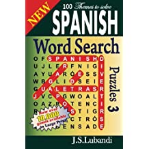 New Spanish Word Search Puzzles 3