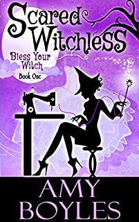 Scared Witchless by Amy Boyles ebook deal