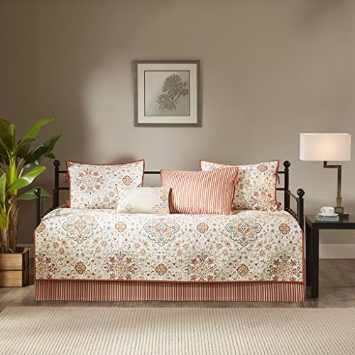 Madison Park Tissa 6 Piece Daybed Set Ivory Daybed