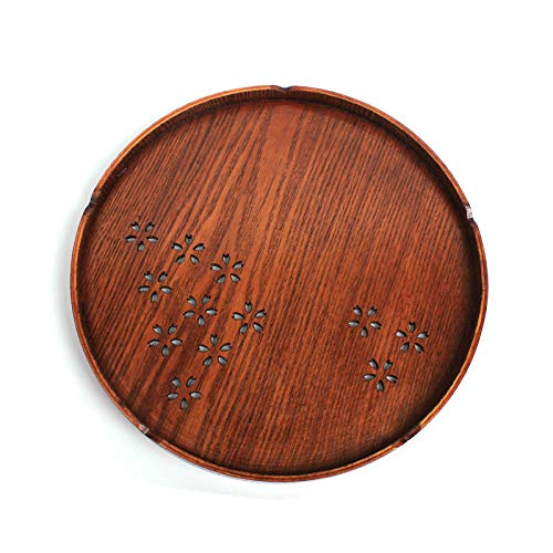 【Japan designed】Cherry Blossoms wood tray