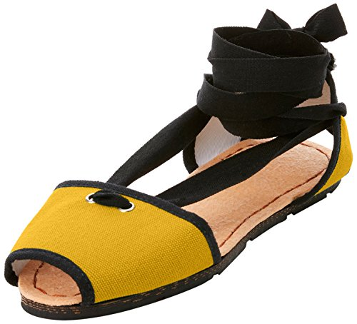 Espadrillas Original Donna Giallo Shoes Spartans Yellow Sunset amp;Pie Couple xffTwP