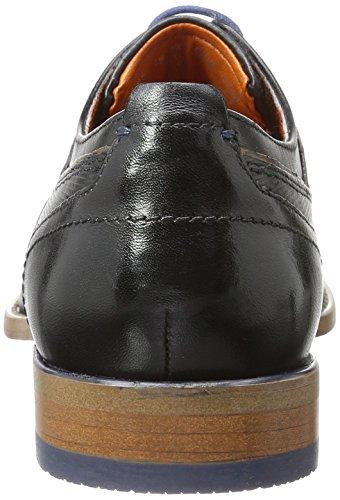Black Cognac Bugatti Scarpe Uomo Stringate Nero 1063 312193061010 wfXBXYqv