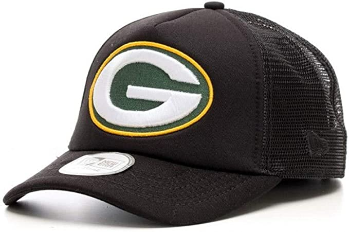 New Era NFL Green Bay Packers Aframe Perf Poly Gorra Negro ...