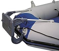 Intex – Barca hinchable con motor fueraborda, soporte de motor ...