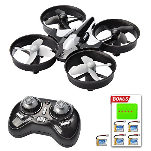 Mysterystone H36 Mini Rc Quadcopter Drone With 5 Battery And Charger  Nano Drone Kit For Office Rtf 2 4G 4Ch 6 Axis With Headless Mode One Key Return  Mode 2 Remote Control Ufo Drone For Kids  Black