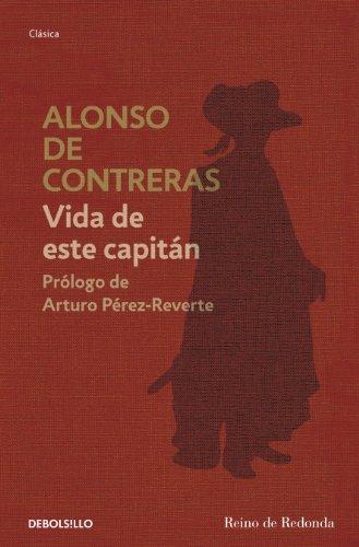 Portada del libro Vida de este capitán de Alonso de Contreras