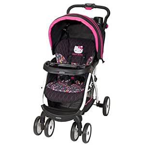hello kitty pin wheel encore stroller by baby trend baby. Black Bedroom Furniture Sets. Home Design Ideas