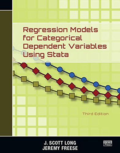 Regression Models for Categorical Dependent Variables Using Stata, Third - Jeremy Uk Scott