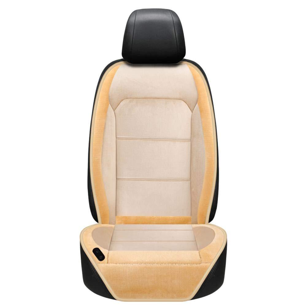 Jannyshop 12V Beheizte Auto-Sitzkissen-Auto-Sitzheizung Kissenbezug Sitzheizung W/ärmer mit Temperaturreglern