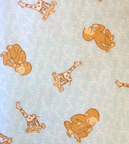 (1/2 Yard - Adorable Curious George