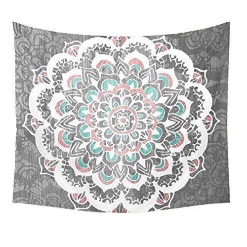 Efanr Tablecloth Bedspread Decoration Psychedelic
