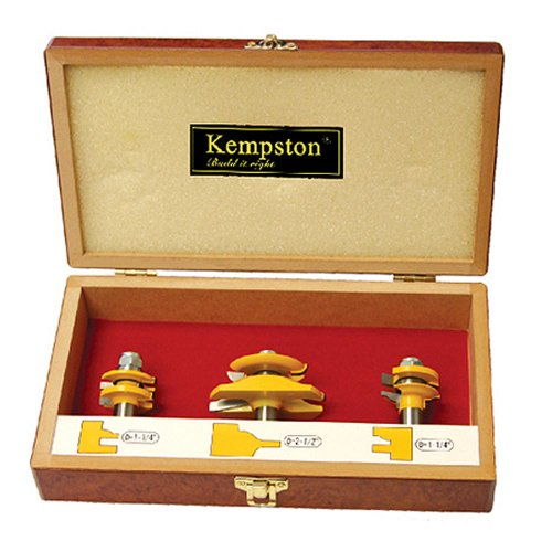 Kempston KC5034 Miniature Raised Panel Set, Roman Ogee, 3-Pieces