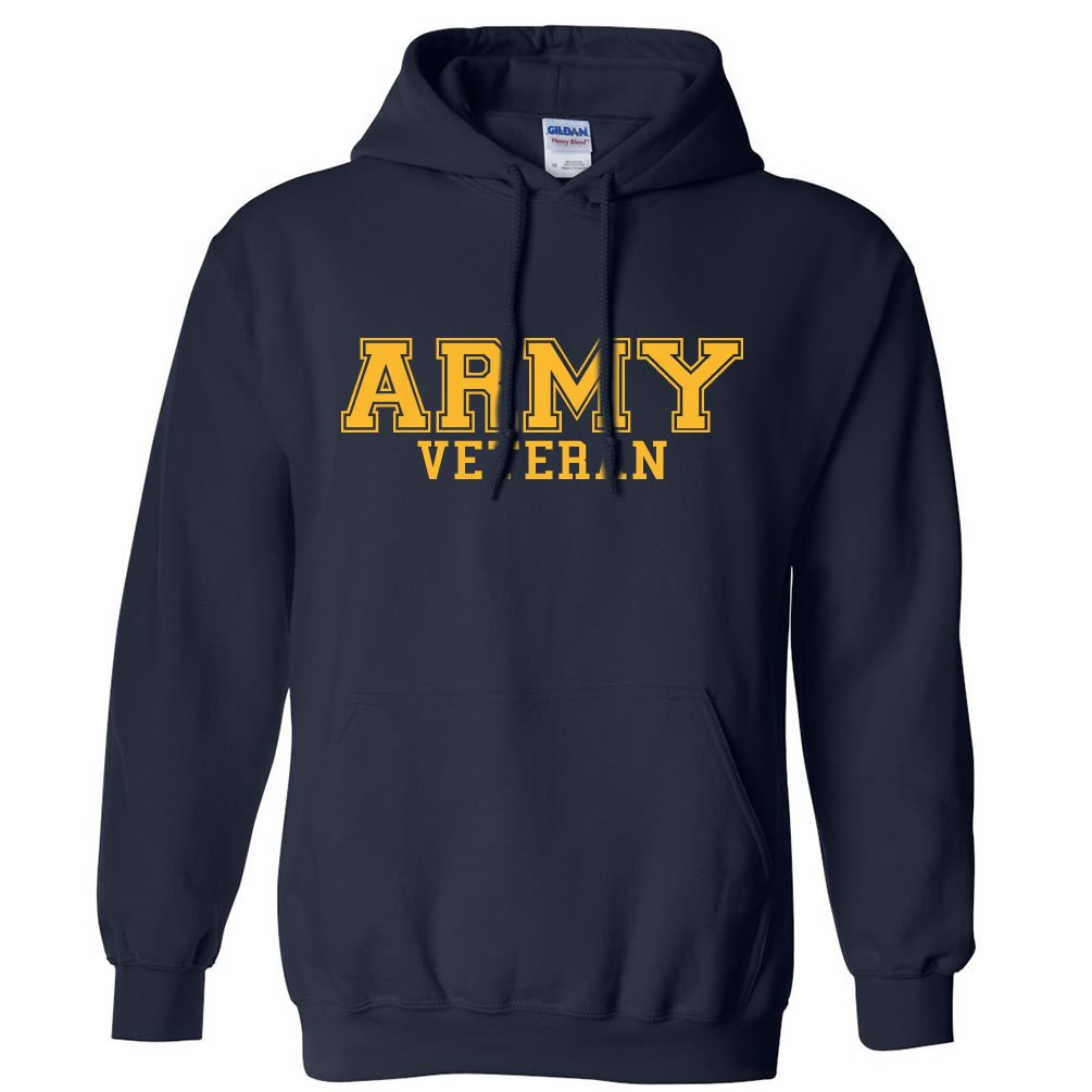 ARMY Veteran GOLD logo Hooded Sweatshirt PA-1468