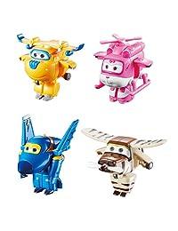 Super Wings Transform-a-Bots 4 Pk - Donnie, Dizzy, Jerome, Bello 2
