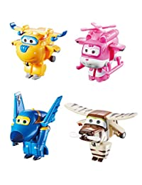 "Super Wings Transform-a-Bots 4 Pk – Donnie, Dizzy, Jerome, Bello 2"" Scale BOBEBE Online Baby Store From New York to Miami and Los Angeles"