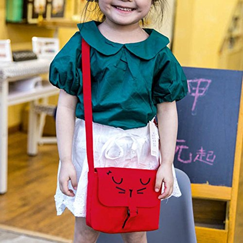 Cartoon Everpert Children Casual Girls Baby Canvas Kids Red Bags Messenger Shoulder FggfxqwpP