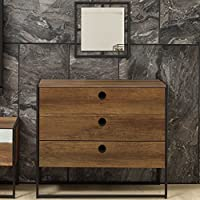 Adam and Illy VIR1872 Virtus Chest of Drawers, Baroque/Black