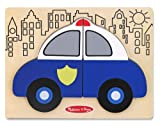 Melissa & Doug My First Chunky Puzzle - Police Car