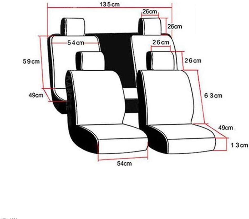 Q3 5 Places Noir Audi pour Q7 A3 A7 A8 A1 A5 A6 HRFHLHY Lot de 9 si/èges de Voiture A4 Q5