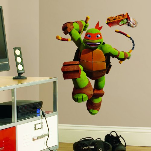 ninja turtle bedroom decal - 9