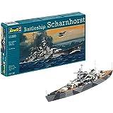 ドイツレベル 1/1200 ドイツ戦艦 シャルンホルスト プラモデル