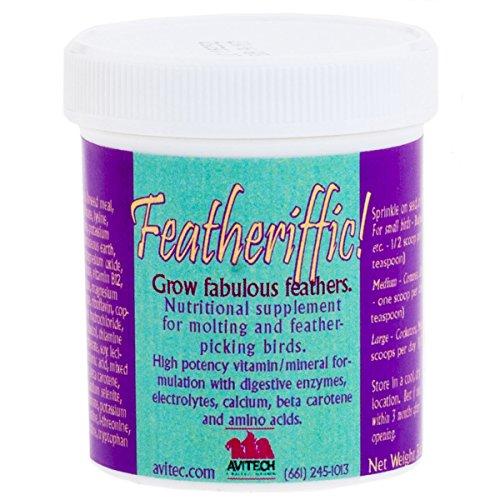 Avitech Featheriffic Supplement, 3 oz by Avitech