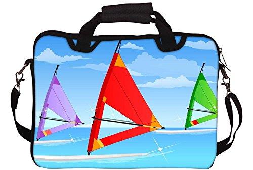 Snoogg Sail Vorstands Sky 2561 Gedruckt Notebook-Tasche mit Schultergurt 15 bis 15,6 Zoll