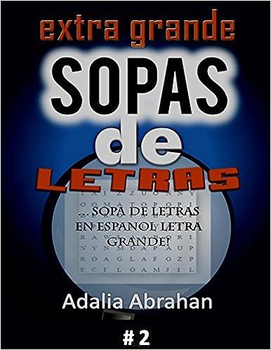 EXTRA GRANDE sopas de Letras: Sopa De Letras En Espanol ...
