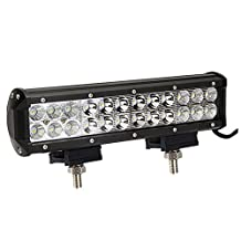 "LED Light Bar,Simplive® 12"" 72W 7200LM CREE Spot Flood Combo Led Work Light Bar For Off-road SUV Boat 4x4 Jeep Lamp with Mounting Bracket"