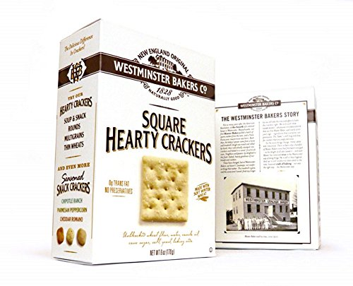 Westminster Hearty Square Crackers - 6 Oz Box
