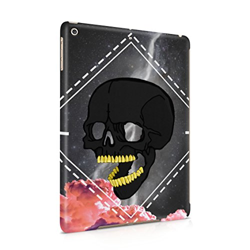 With Golden Teeth Space Pink Clouds Plastic Tablet Snap On Back Case Cover Shell For iPad Air 1 (Obsidian Pool)
