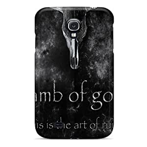 Samsung Galaxy S4 JMJ4460qNxJ Customized Nice Lamb Of God Pictures Scratch Resistant Cell-phone Hard Covers -KerryParsons