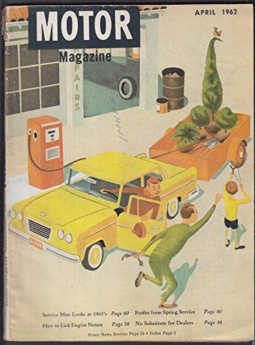 (MOTOR MAGAZINE Crossmember Replacement; Automatic Drive; TBA + 4 1962 )