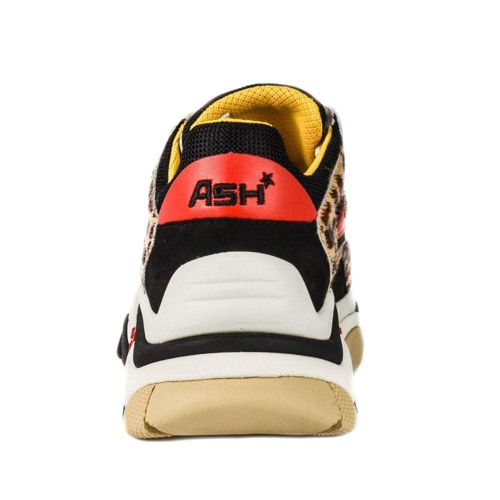 714340fffab2 Ash Addict Sneakers Cheetah Print Pony Hair   Black Mesh 36 Black.   Amazon.co.uk  Shoes   Bags