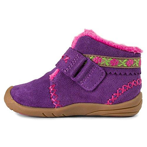 pediped Girls' Rosa Chukka, Purple, 23 EU(7 E US Toddler) by pediped (Image #1)