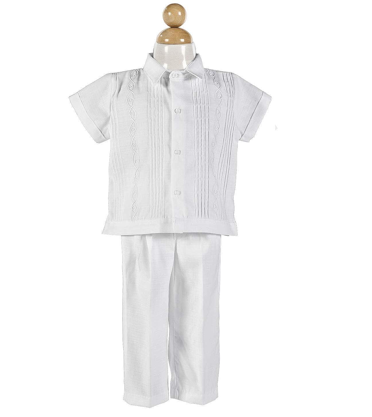 Amazon.com: Boys Baptism/Christening Outfit, Traje De ...